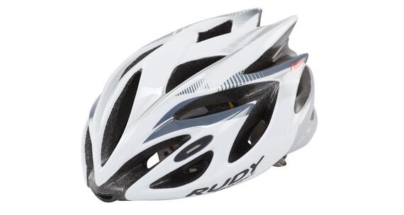 Rudy Project Rush Helmet White-Silver (Shiny)
